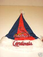 "ST. LOUIS CARDINALS 18"" CHRISTMAS SANTA HAT"