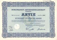 Refrigeración tránsito AG 100dm hamburgo 1954