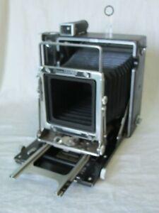 Graflex Crown Graphic 4x5 Large Format Press Camera Body Kalart Rangefinder