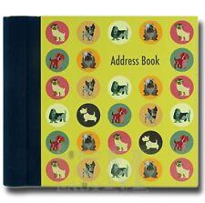 Dot The Dog Hardback Address Book - Various Dog Breeds - Perfect Gift Idea