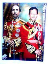 Bild picture König King Bhumibol Adulyadej RAMA IX Thailand 26x19 cm  (1