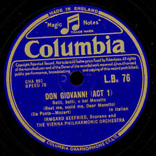 "Irmgard Seefried-soprano - ""Don Giovanni"" batti, batti/""""Nozze Figaro ""s7703"