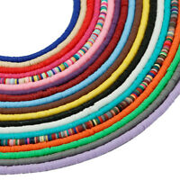 "1 Strand 18"" Handmade Flat Disc Polymer Clay Spacer Beads 3/ 4/5/6mm Findings"