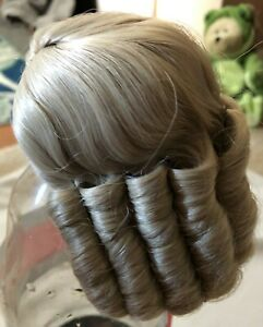 Dollspart Size 7 Wig, Dyned LC Blonde in plastic and box