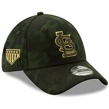 check out a7c15 a49ad St. Louis Cardinals New Era 2019 Armed Forces Day 39THIRTY Flex Hat