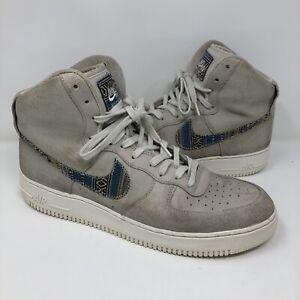 Nike Air Force 1 High 07 LV8 806403-005 Light Bone/Os Clair Mens Size 13
