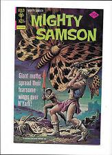 MIGHTY SAMSOM #31 [1976 VG-FN]  GIANT MOTHS COVER!