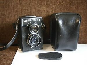 LOMO TLR camera LUBITEL 166V T-22 75mm f/4,5 Lens