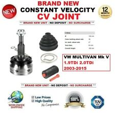 FOR VW MULTIVAN Mk V 1.9TDi 2.0TDi 2003-2015 NEW CONSTANT VELOCITY CV JOINT
