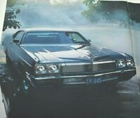 1972 Plymouth Chrysler Fury 1973 New Car Model Auto 2 Page Vintage Print Ad