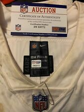 Washington Redskins daron Payne game used-worn rookie jersey win over dallas