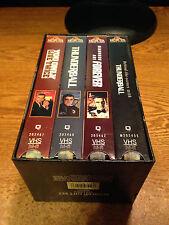 JAMES BOND 007 GIFT SET VOLUME 2 FOUR VHS TAPES SET / REAL PICS / WRONGWAY052