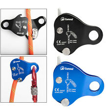 Climbing Rope Grab Mountaineering Caving Protection Belay Device Accessories