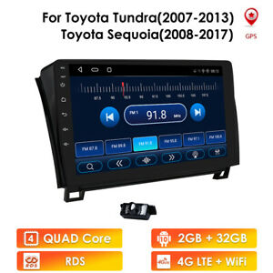 """10.1"""" For Toyota Tundra 2007 2008 09 10-2013 Android10 Car GPS Radio Stereo DSP"""
