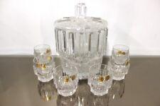 Nachtmann Bowle Set Bleikristall für 6 Personen; 1 Bowle Topf, 6 Bowle Gläser