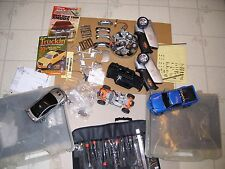 Xmods Evo RC Car Kit Lot Parts Pieces Wheels Controllers Cases ***AS IS***