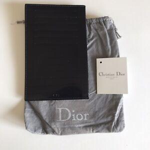 Dior Homme Hedi Slimane New Leather Flat Wallet fits passport
