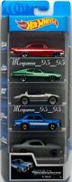 HOT WHEELS FAST AND FURIOUS 5 PACK - '70 CHEVELLESS CORVETTE FORD IMPALA