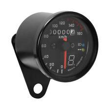 Motorcycle KMH Gauge Odometer Speedometer Speedo Meter LED For Honda Cafe Racer