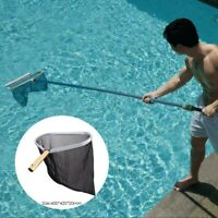 US 2019 Swimming Pool Cleaning Net Leaf Rake Mesh Skimmer Net Pools & Fish Pond