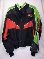 Medium Weight Black and Green Orange Black ARCTIC CAT ARCTICWEAR Racing Jacket