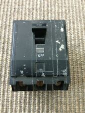 Square D Co. Circuit Breaker 3 Pole Ctl Type Qob 240 V.A.C. 20 Amps 60 Hz