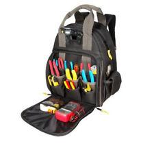 d1483f7081 Tool Backpack Bag Box Electrician LED Lighted Technician Mechanic 53 Pocket