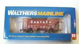 Walthers Ho Mainline 37' PS 2980 2 Bay Covered Hopper #910-7952 Santa Fe NIB