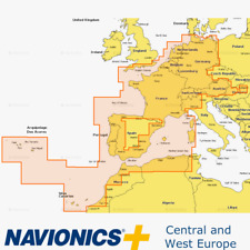 Navionics+ 46XG Central and West Europe
