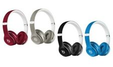 Beats by Dre Solo 2 Wired Luxe Edition Headphones - Silver
