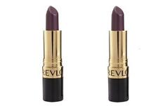 Lot of 2, Sealed Revlon Super Lustrous Lipstick 663 Va Violet