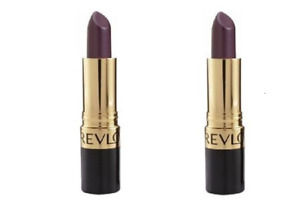 2 Revlon Super Lustrous Lipstick 663 Va Violet