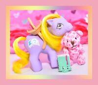 ❤️My Little Pony MLP G1 Vtg 1984 Euro UK Playschool Baby Alphabet Purple❤️