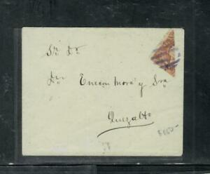 GUATEMALA COVER (P1809B) COVER EARLY BISECT ON INTERNAL COVER