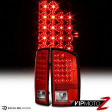 2007-2008 DODGE RAM 1500 2007-2009 DODGE RAM 2500 3500 RED/CLEAR LED TAIL LAMPS