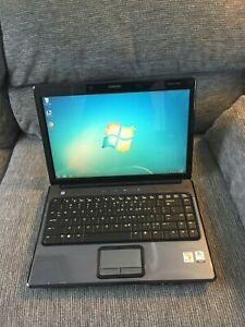 """Vintage Compaq Presario V3000 14""""(AMD/3GB Ram/100GB HD/Win7/Office07)-Excellent"""