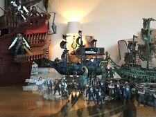 Pirates Of The Caribbean Black Pearl Jack Sparrow Metal Miniatures Ship Crew Fig