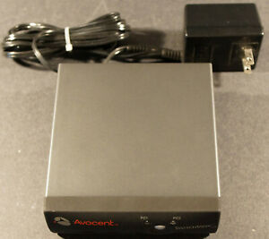 Avocent SWITCHVIEW 2-PORT PS2 USB HYBRID (520-335-001), with Power Supply.