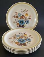 "Country Living Arden Dinner Plates Japan 10 1/2"" Set of Six (6) Int'l China"