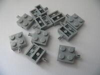 Lego 10 essieux gris clair bluish 7747 9335 7733 60008  / 10 light bluish pl mod