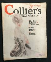 COLLIERS Magazine (complete) - Feb 1926 - ART DECO ILLUSTRATIONS / Butler Cover