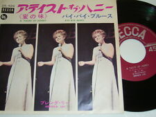 "7"" - Brenda Lee A Taste of Honey & Bye Bye Blues - Japan OIS Lyrics # 4428"