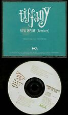 Tiffany New Inside (Remixes) USA Promo CD Single 4 tracks