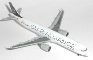 Airbus A321 Air China Star Alliance JC Wings Diecast Model Scale 1:400 JC4070 G