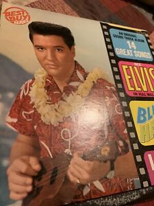 Elvis/Blue/Hawaii/61/Soundtrack/Lp/Incl/Can't/Help/Falling/In/Love/No/2/Hit/45/M
