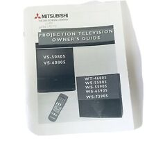 Quick Reference Guide MITSUBISHI TV Remote TV OWNER'S GUIDE - 90 Page Manual