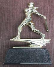 Softball trophy home run hitter black base award