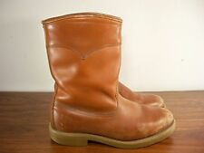Vtg Red Wing Irish Setter Men's Work Hunting Leather Riding Biker Boots Size 9 D