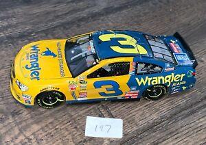 Dale Earnhardt  Wrangler CUSTOM 1/24 Action NASCAR Diecast