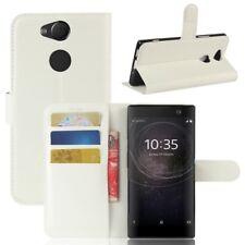 Cartera De Bolsillo Premium Blanco para Sony Xperia XA2 Cubierta la caja sobres